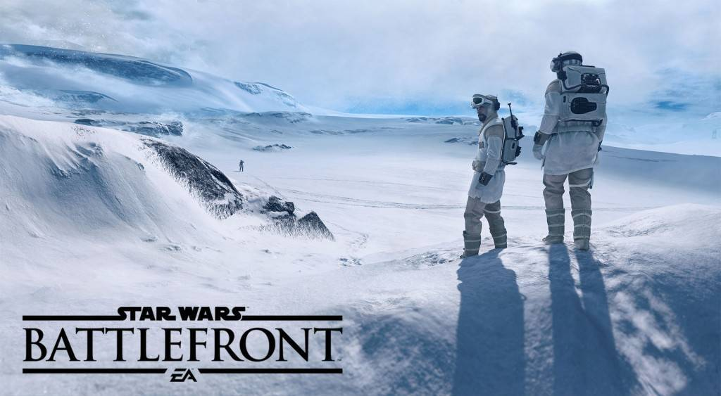 Satr Wars Battlefront Screen