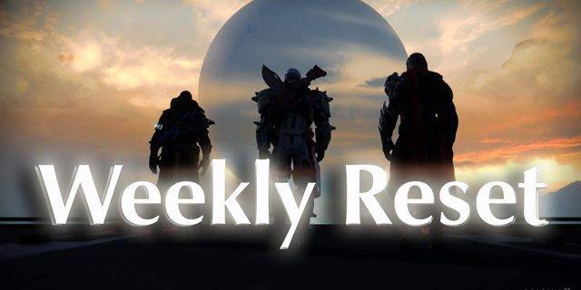Destiny - Weekly Reset vom 30. August 2016
