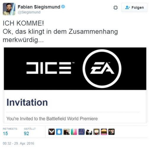 Battlefield 5 - Enthüllung