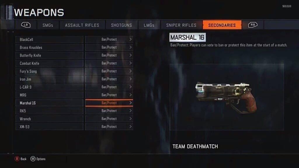 """Marshall 16 - so wie diese Waffe soll der Black Ops 3 Spezialist """"Black Jack"""" nur über den Schwarzmarkt erhältlich sein"""