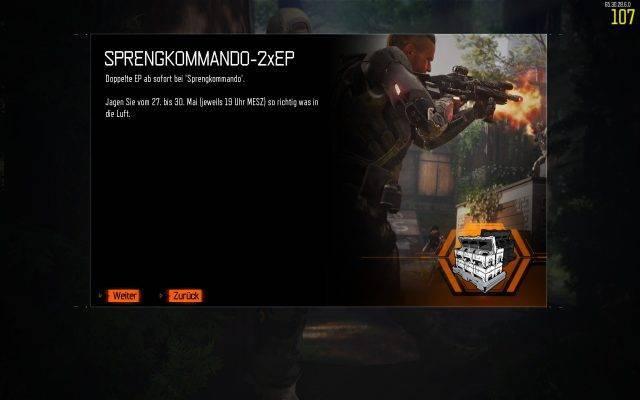 Sprengkommando Double-XP auf PC