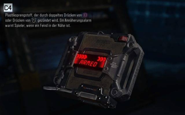 Ausrüstung C4