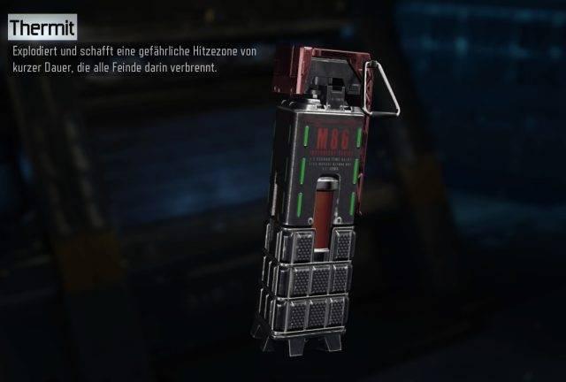 Ausrüstung Thermit