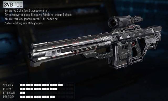 Snipergewehr SVG-100