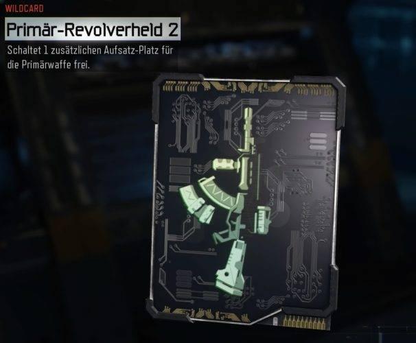 Wildcard Primär-Revolverheld 2