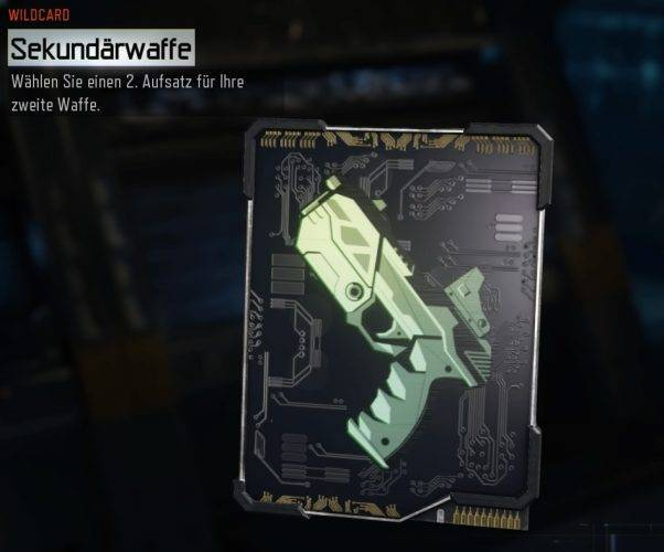 Wildcard Sekundärwaffe