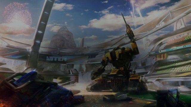 Die Map Rumble aus dem Descent DLC