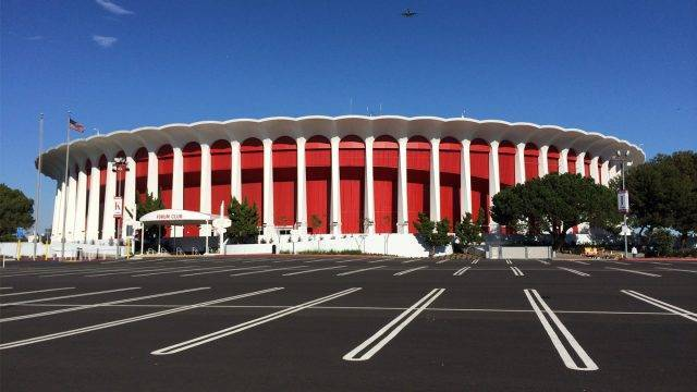 The Forum in Inglewood, Los Angeles