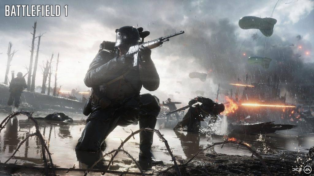 Battlefield 1 Shot