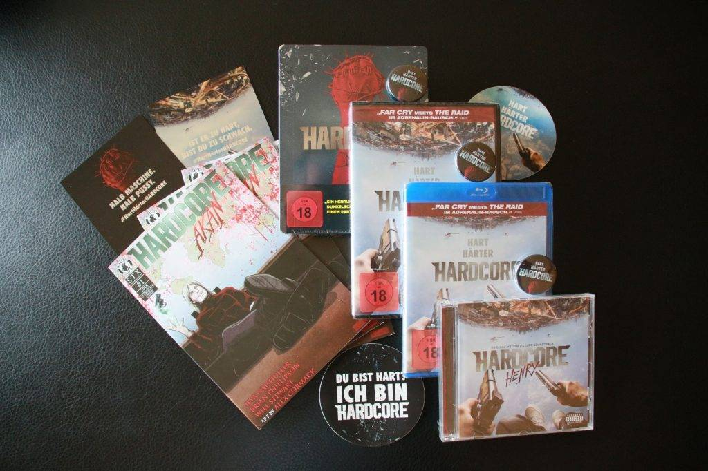Unser HARDCORE-Gewinnspiel für HARDCORE Fans! Gewinne eins von drei Fan-Paketen zum ersten Film aus der First-Person Perspektive!