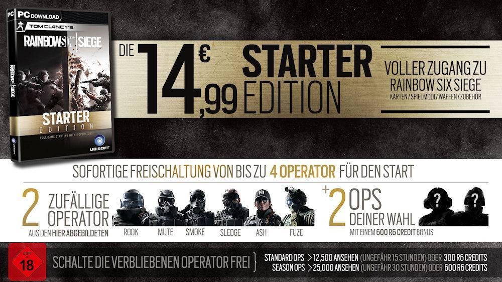 Rainbow Six Siege Starter-Edition