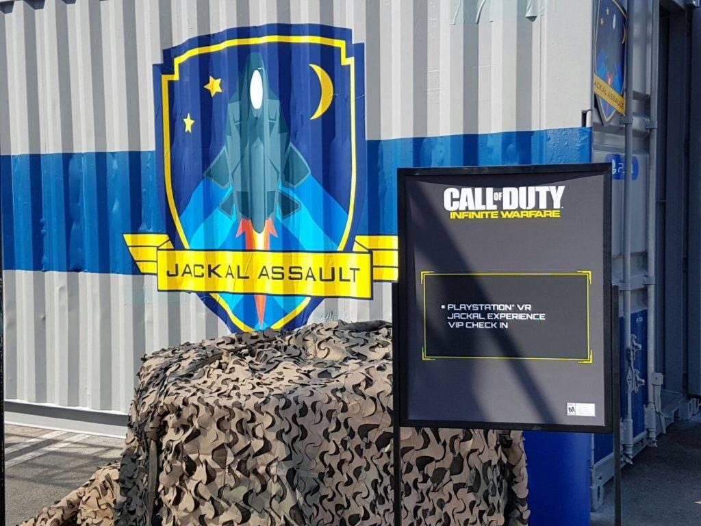 """Die CoDInfobase ist vor Ort und wird sich einen ersten Eindruck verschaffen vom Call of Duty: Infinite Warfare VR-Level """"Jackal Assault""""!"""