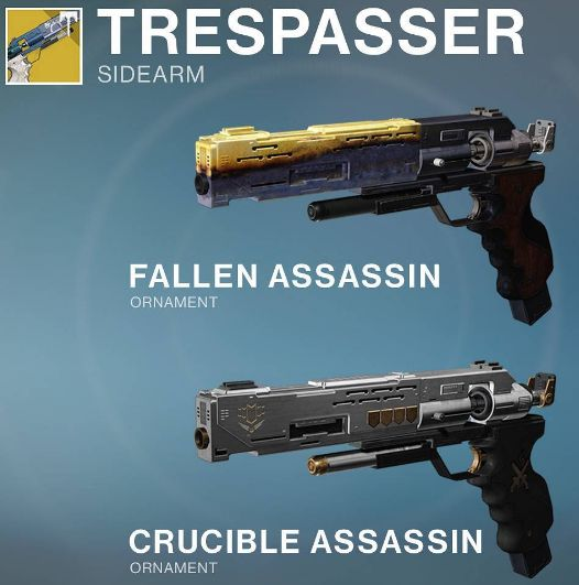 trespasser ornaments Exotic