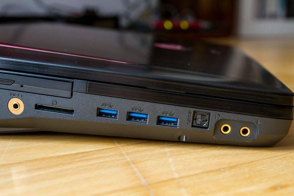 Diverse Anschlussmöglichkeiten, vor allem auch für Audio: Optisch über S/PDIF, normale Klinke und ein Extra-Port für HD Audio - Was will man mehr!?