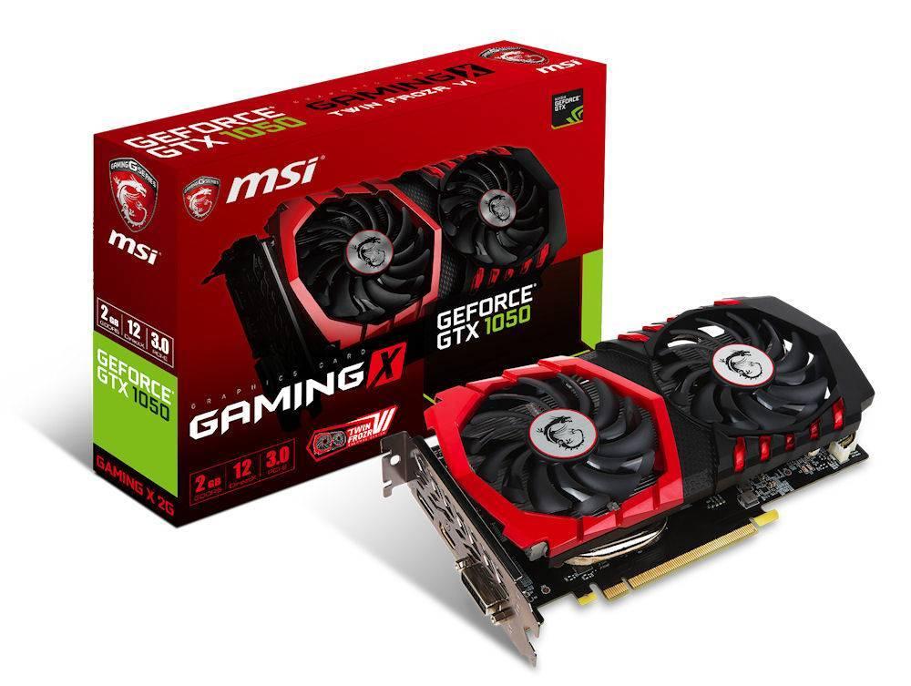 MSI GeForce® GTX 1050 GAMING X 2G